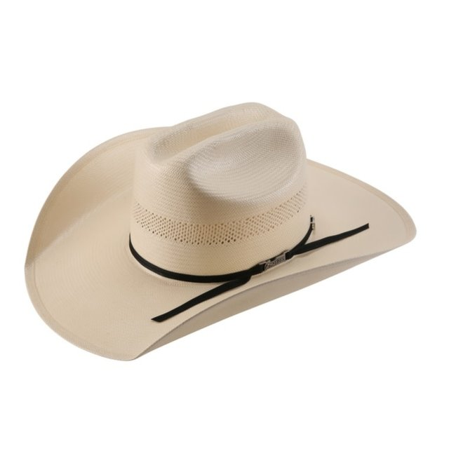 Ivory Vented Rancher Straw Hat