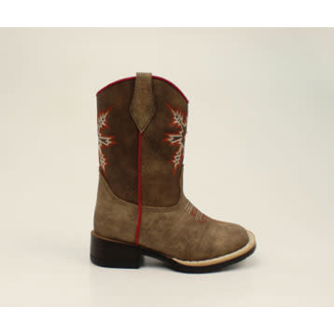 Childrens Clay Cowboy Boots