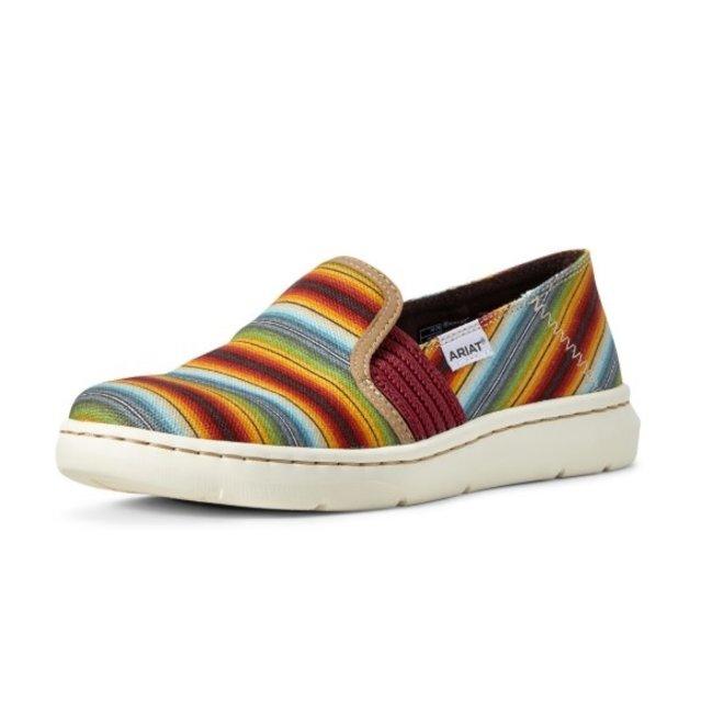 Ladies Muted Serape Slip On Shoe