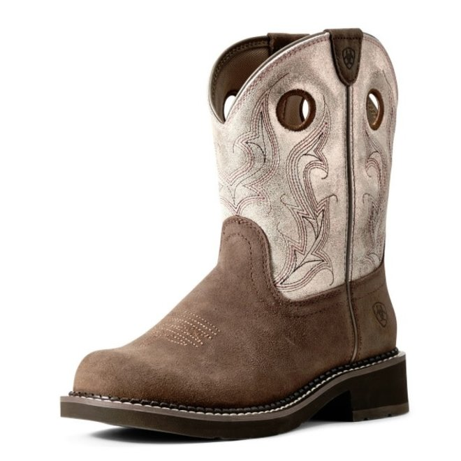 Ladies Heritage Brown Barley Fatbaby Boot