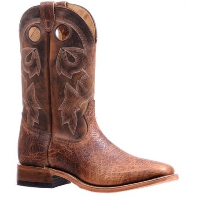 Mens Mesquite Brown Bison Boot