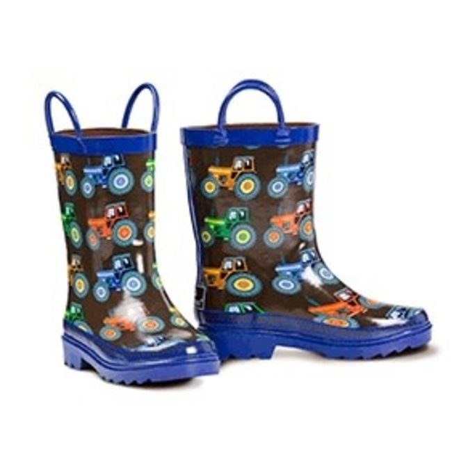 Boys Tractor Rain Boot