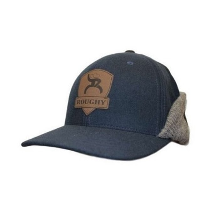 """Roughy """"Out Cold"""" Navy Wool Cap"""