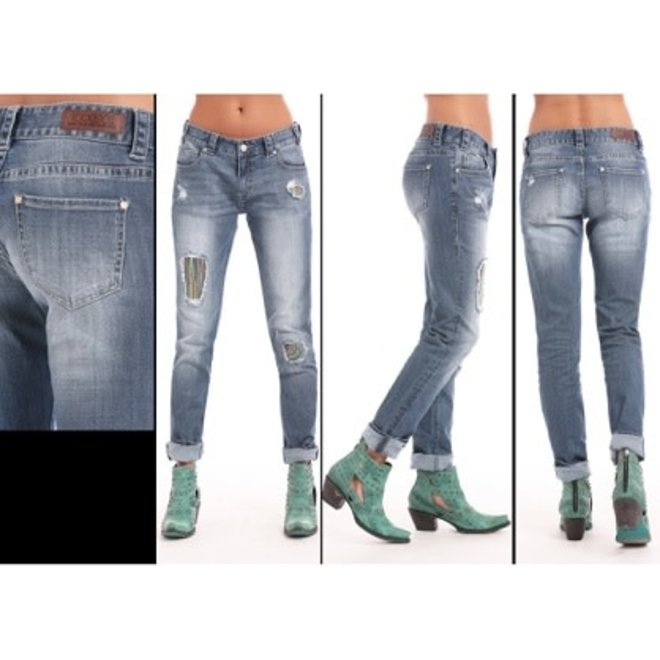 Jr Ladies Skinny BoyfrndJean