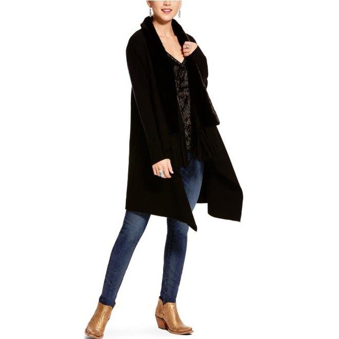 Ladies Black Gambler Sweater