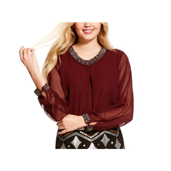 Ladies Chiffon Showtime Top
