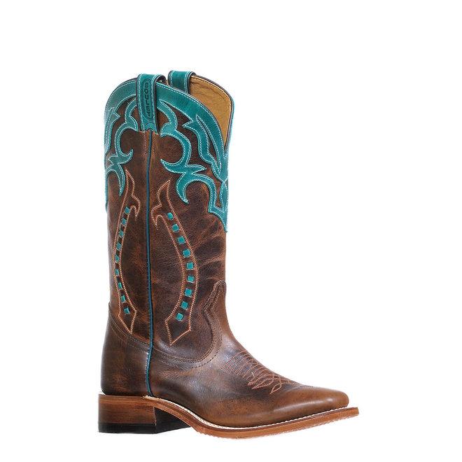 Ladies Square Toe Moka Boot