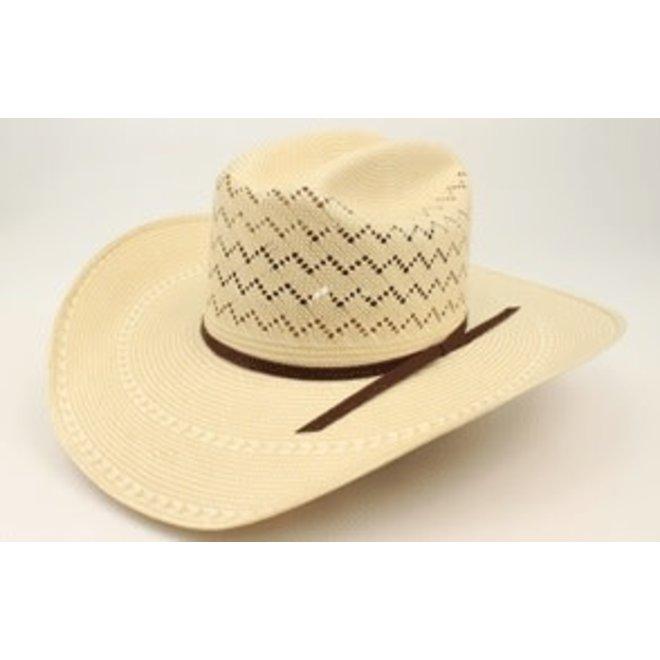 "Ariat 20X Double S 4 1/4"" Straw Hat"