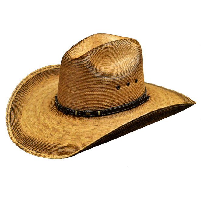 Farmhand Toasted Duke Palm Hat