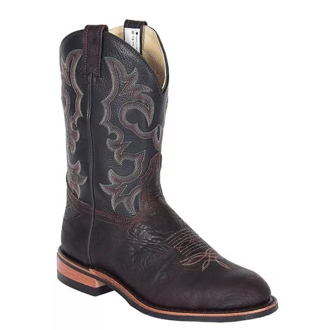 Mens Brown Bullhide Ranchman Roper Boot