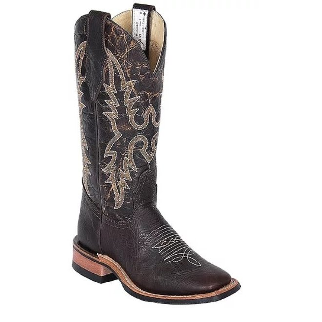 Ladies Brown Bullhide Roper Boot