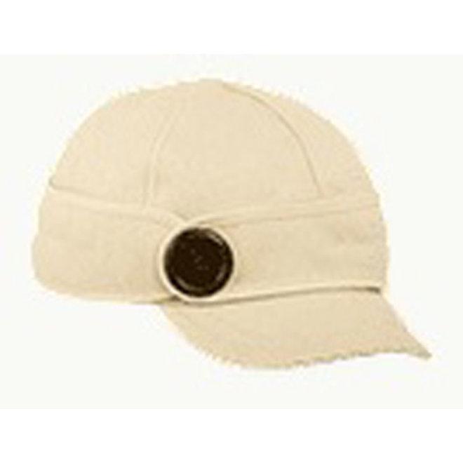 Wool Winter White Cap