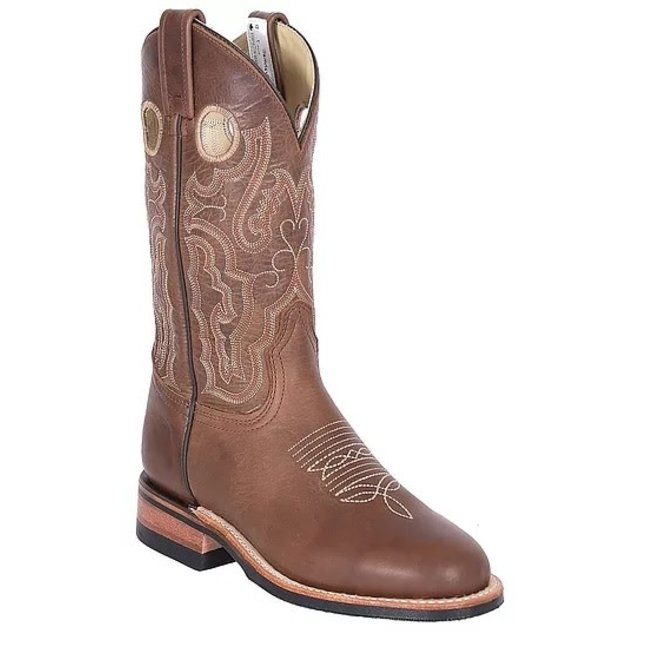 Ladies Alamo Tan Roper Boot