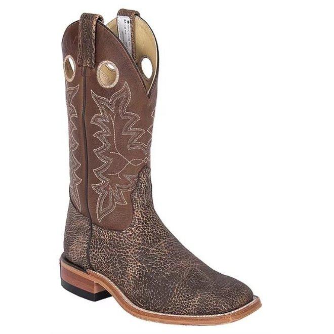 Mens Saloon Bison Ranchman Roper Boot