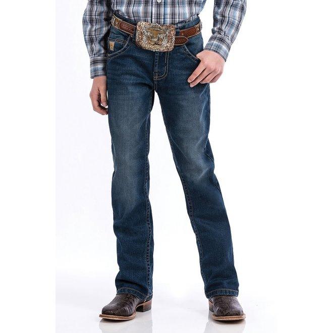 Boys Slim Fit Medium Wash Jean