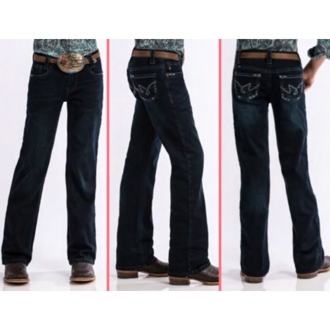 Girls Lucy Dark Rinse Slim Fit Jean