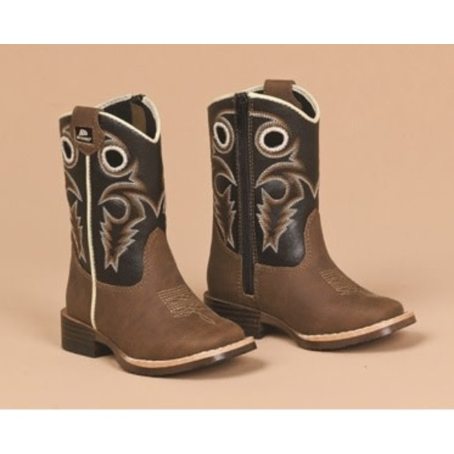 """Toddler Boys """"Trace"""" Cowboy Boot"""