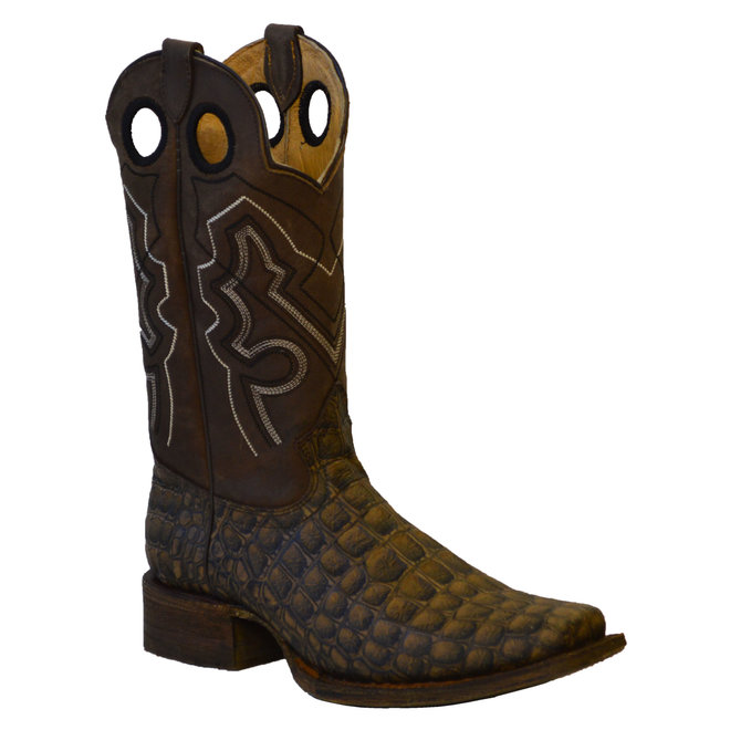 Mens Faux Gator Boots