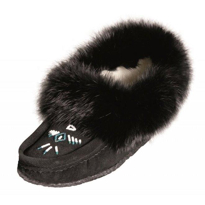Ladies Black Slipper