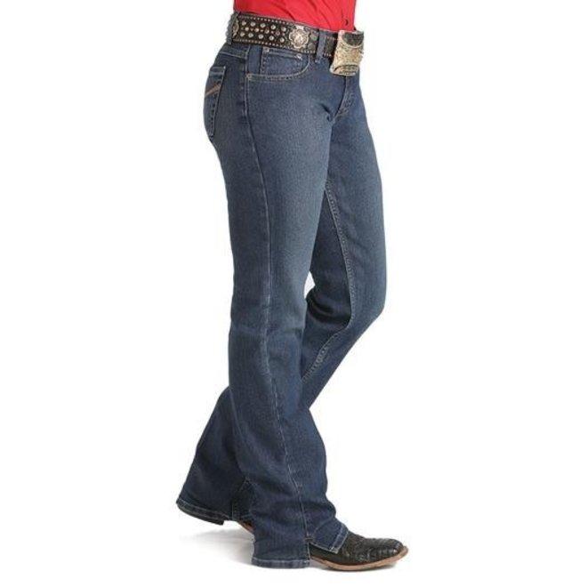 """Ladies """"Kylie"""" Dark Slim Fit Boot Cut Jean"""