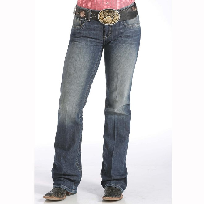 """Ladies Cinch """"Ada"""" Relaxed Fit Boot Cut Jean"""