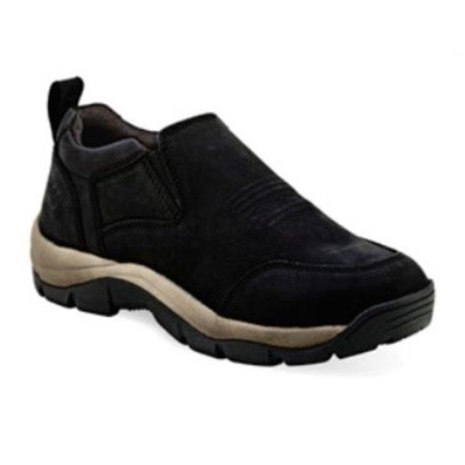 Mens Black Leather Shoe
