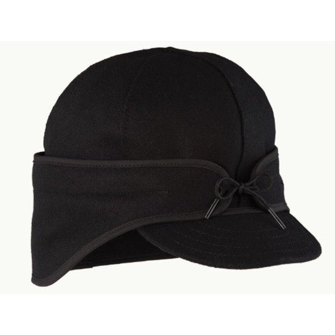 The Rancher Wool Cap - Black