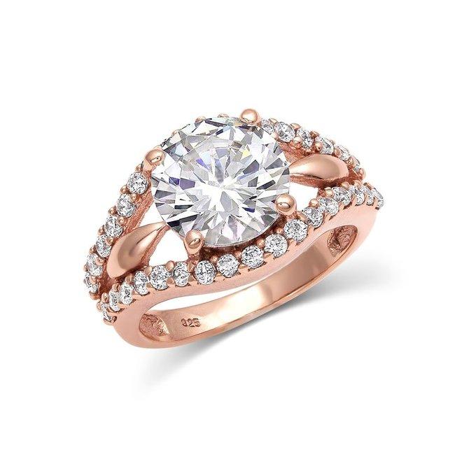 Sunset Rose Gold Ring