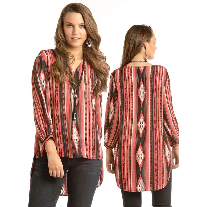 Junior Ladies Aztec Blouse