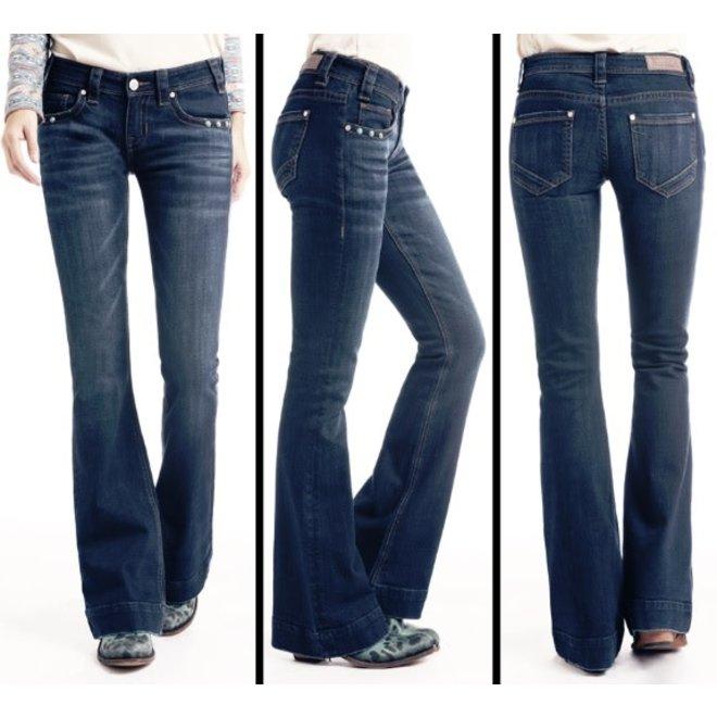 Ladies Low Rise Vintage Jean