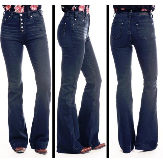 Junior Ladies Button Fly Jean