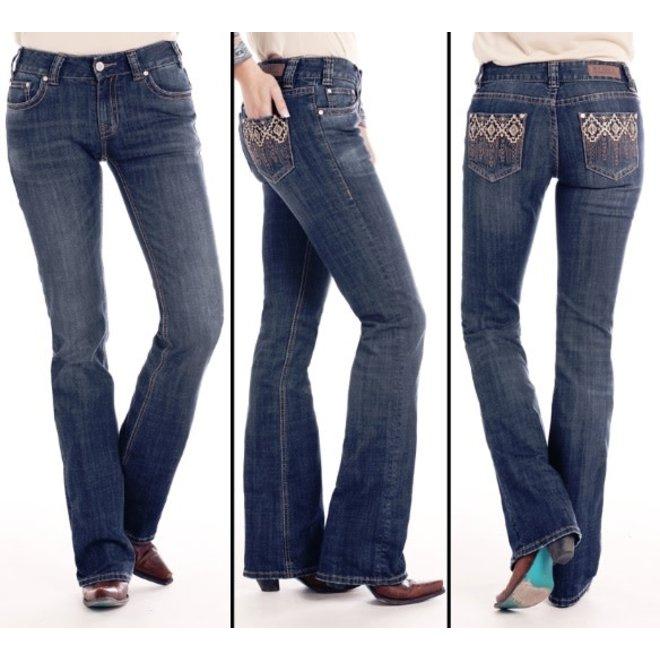 Ladies Mid Rise Boot Jean