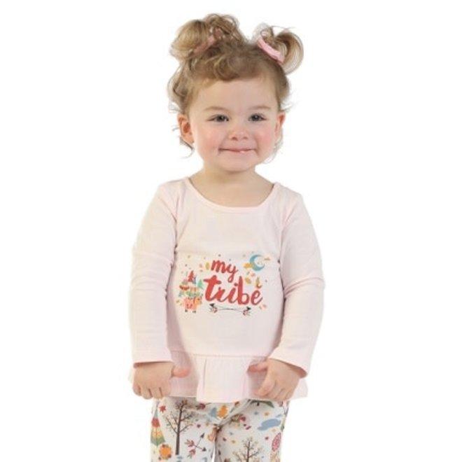 Infant Pink Graphic Bodysuit