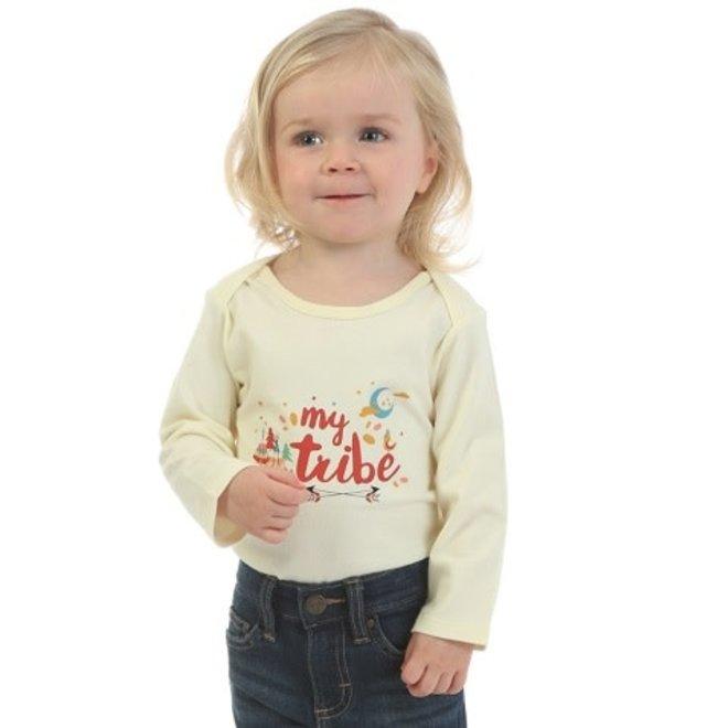 Infant Ivory Graphic Bodysuit