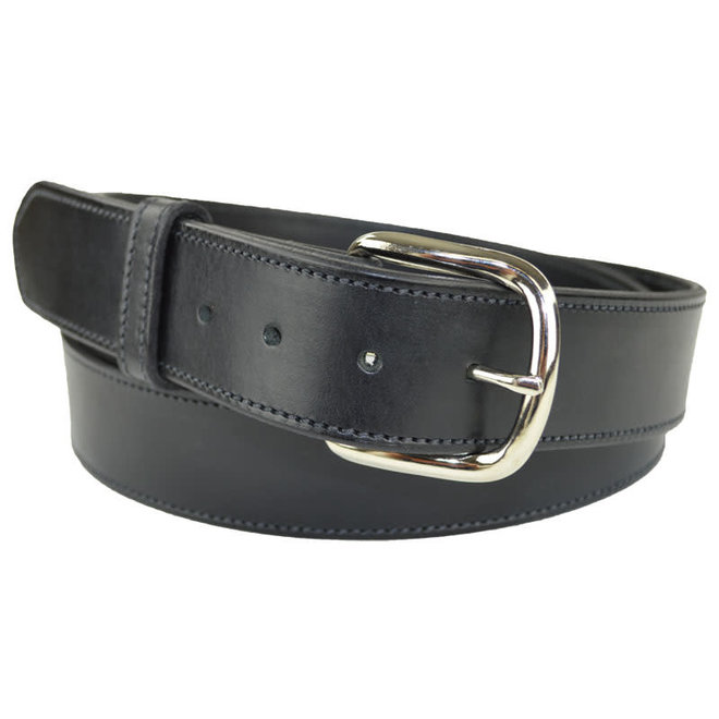 Mens Plain Black Belt