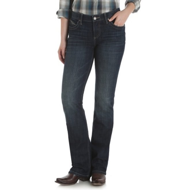 Ladies Dry Creek Blue Q-Baby Jean
