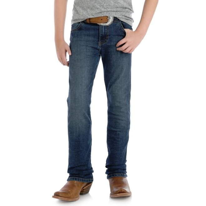 Boys Red River Blue Retro Straight Leg Jean