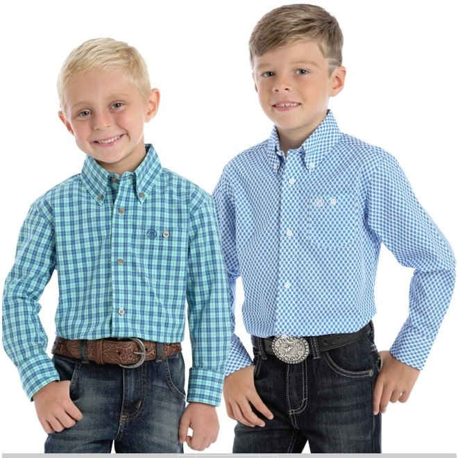 Boys Classic Button Down Shirt