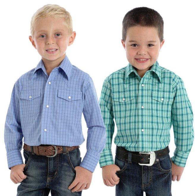 Boys Classic Western Snap Shirt
