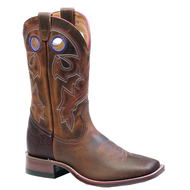 Boulet Mens Square Toe Western Boot