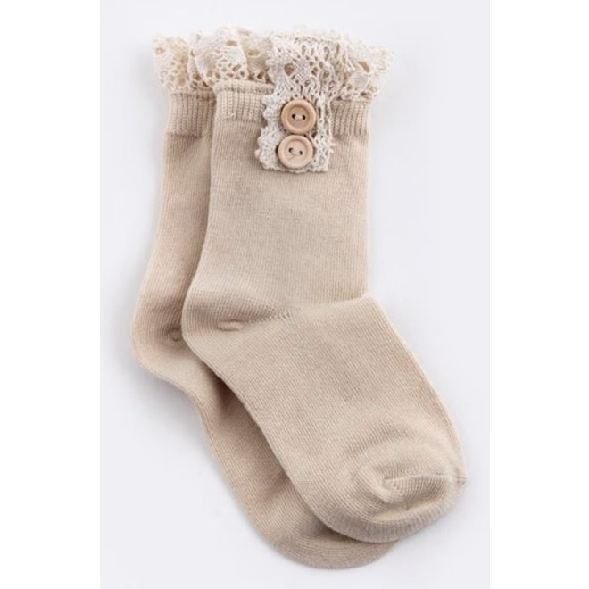 Kids Ankle Lace Socks