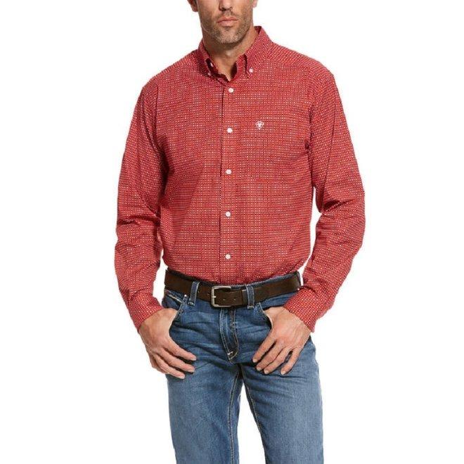 Mens Robinson Stretch Print Shirt