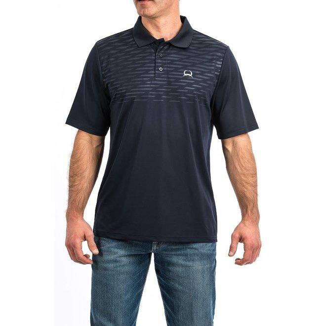 Mens Navy Arena Flex Polo Shirt