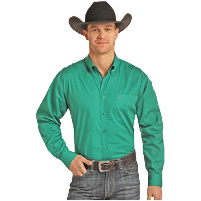 Mens Emerald Snap Shirt