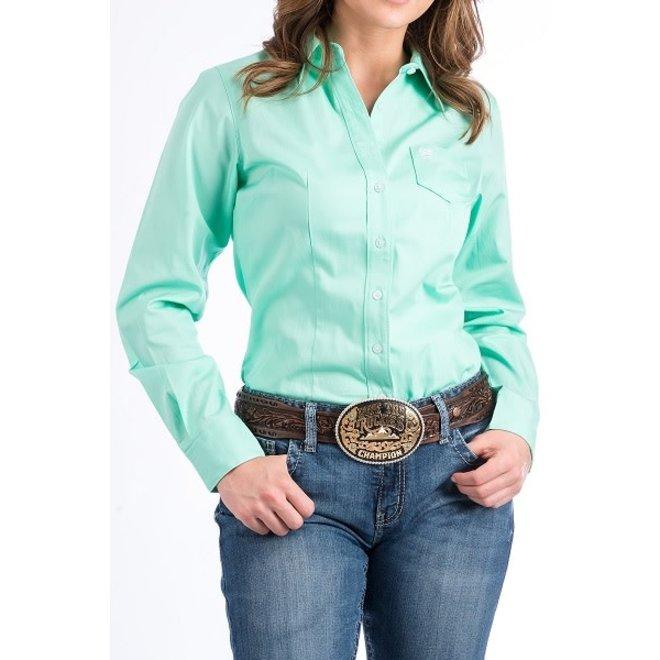 Ladies Green Performance Shirt