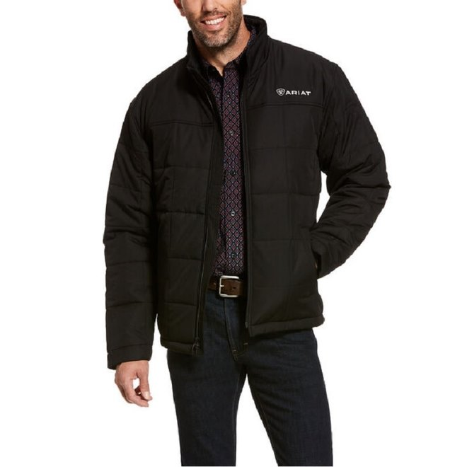 Mens Black Crius Insulated Jacket