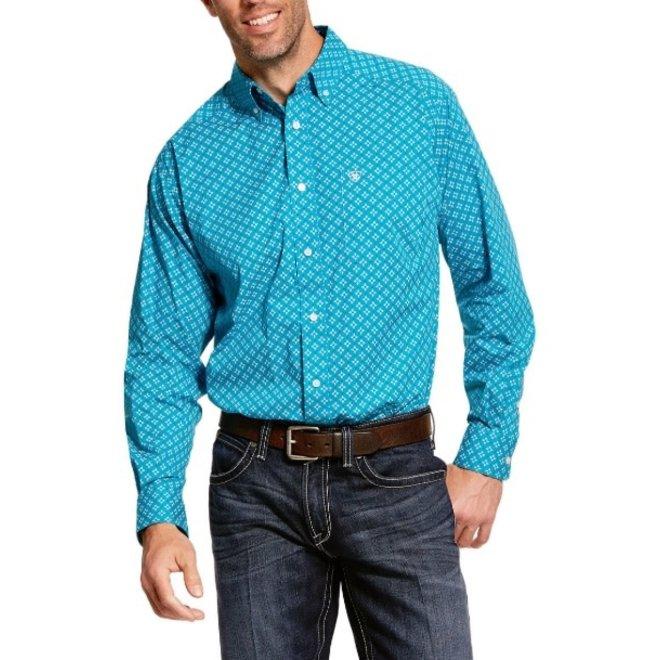 Mens Cerese Blue Backren Shirt