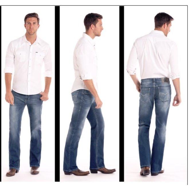 Mens Reflex Regular Fit Pistol Jean