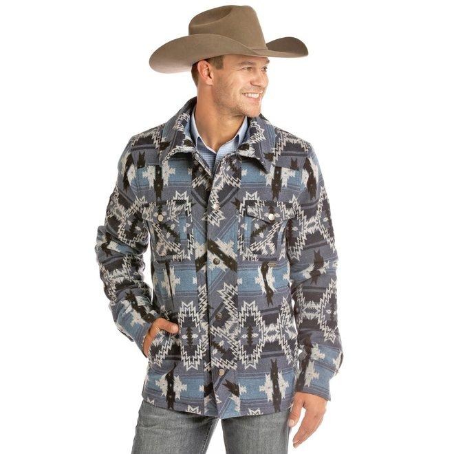 Mens Wool Aztec Jacket