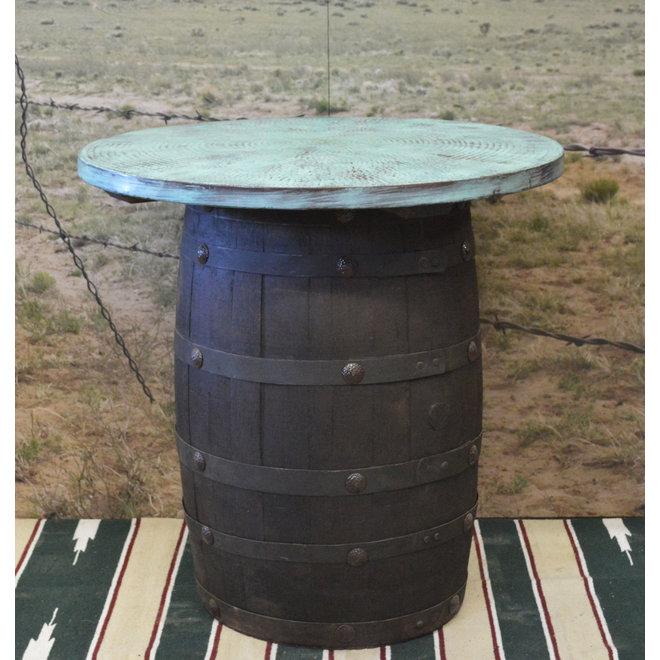 TQ Copper Barrel Table